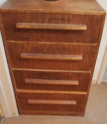 Heals Of London Bedroom Set Wardrobe, Chest Of Drawers And Tall Boy