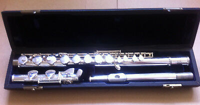 Lalo Alto Flute Silver Plated Excellent Condition