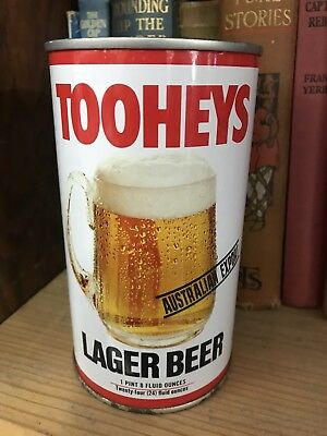 Tooheys Lager Beer 1 Pint 8 Fuels Ounces Money Box