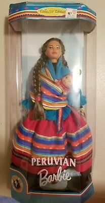 Dolls of the World Collector Edition Peruvian Barbie New - light box wear