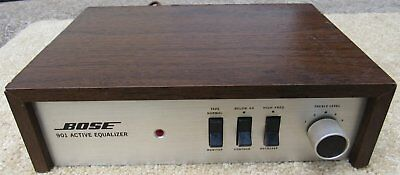 Bose 901 Series II Active Equalizer For Stereo Speakers Works Great Power Switch