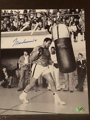 Muhammed Ali Autographed 8x10 Photo  ......Certified