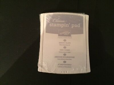 Stampin Up Classic Stampin Smoky Slate Ink Pad