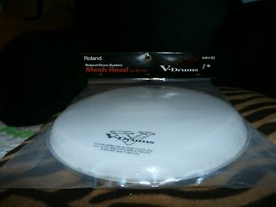 """new"" Roland Mh-10 Replacement Mesh Head 10"" Made In Usa (For Electric Drums)"