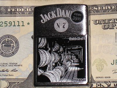 New ZIPPO Lighter JACK DANNIEL'S NO 7 Scenes from Lynchburg #6 TENNESSEE WHISKEY