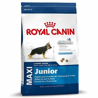 Alimento per cani Maxi Junior 15kg x 2 Royal Canin OFFERTA! 30kg in totale