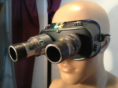 Prop GHOSTBUSTERS ECTO NIGHT VISION GOGGLES WITH LIGHTS. cosplay, Free Shipping