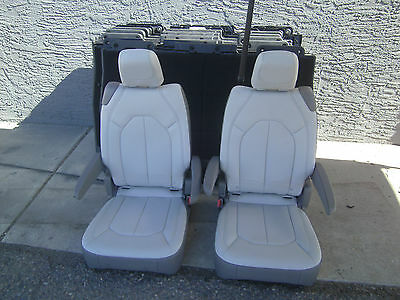 2017 new takeouts 2 BUCKET SEATS toffee - silver gray  Jeep Hotrod Bus Van Truck