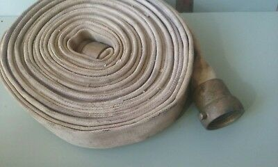 Vintage Used Fire Hose Brass Fittings
