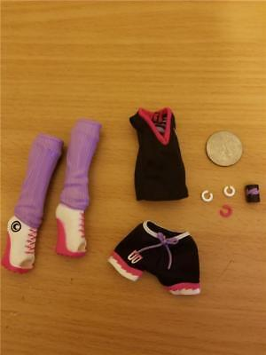 Monster High Soccer Club Clawdeen Wolf Scream Uniform-Clothes,Boots&Jewelry #127