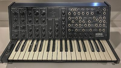 Korg MS 20 Mk2 Analogue Synth (near Mint)