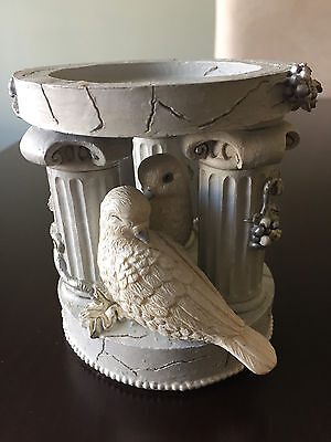 "Candle Holder ""New Beginnings"" Birds by Innovation"