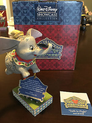 Walt Disney Showcase Collection Faith in Flight Dumbo Jim Shore 4010028 Figurine