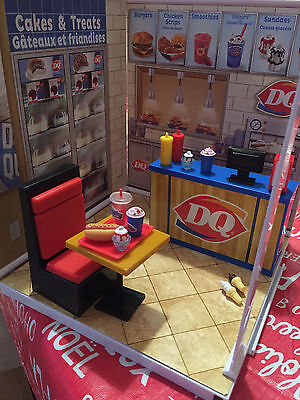 DQ Dairy Queen Store Playset MiWorld