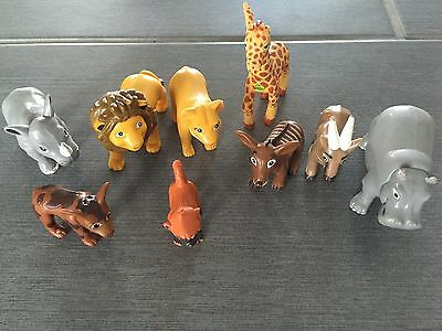 Go Diego Go Dora the Explorer Safari Rescue Animal Figures Toys Mattel 2005