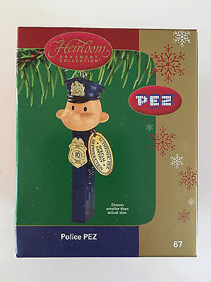 Rare Police Pez 67 Hierloom Ornament Collection Carlton Cards