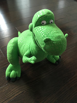 Disney Parks Toy Story Rex The Dinosaur Authentic Plush Toy 10""