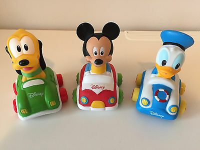Disney Mickey Mouse Pluto Donald Duck Toy Cars by Clementoni