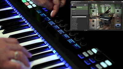 Native Instruments Komplete Kontrol s61 61-Key Controller Keyboard - MINT