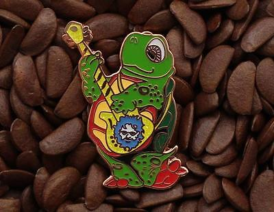 Grateful Dead Pins Happy Turtle Dancer Jerry Garcia On Guitar Pin