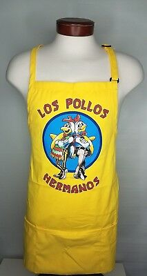 Los Pollos Hermanos Yellow Apron Loot Crate Brand New Breaking Bad