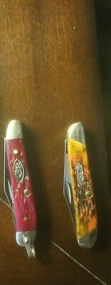 Case 6220 RSC Peanut Knife and 6220 Peanut Lot of 2