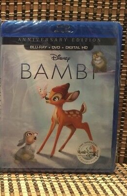 Bambi: Signature Edition (2-Disc Blu-ray/DVD, 2017)Walt Disney Classic