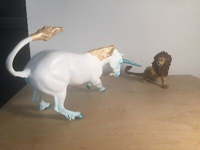 OOAK Breyer CM/Custom Lion and Unicorn