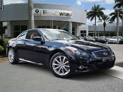 2012 Infiniti G37  2012 Convertible Used Gas V6 3.7L/226 7-Speed Automatic RWD Black
