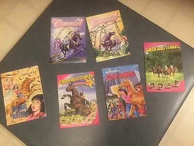 Pony Club Comic Books Lot Of Six - Used
