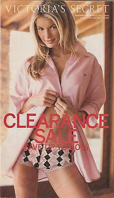 Marisa Miller Victoria's Secret Catalogs November Clearance 2004 VOL. 1