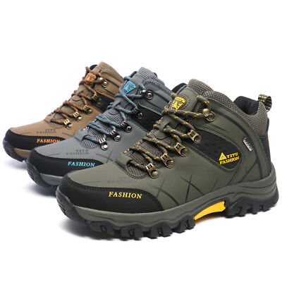 Mens Trekking hiking Shoes Ankle Boots  Sports Outdoor Waterproof Non-slip boots