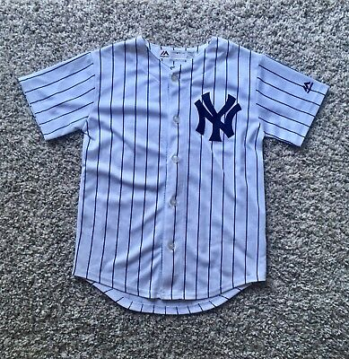 *** Official New York Yankees Baseball Jersey Child's Kids Size Small/8 ***