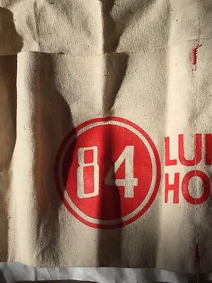 84 Lumber Hardware Canvas Nail Apron Carpenter Contractor Unused Old Vintage