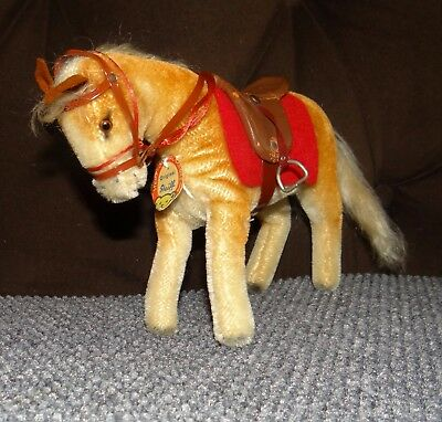1963-1972 Vintage FAO SCHWARZ EXCLUSIVE HORSE PONY All Tack and Bear Chest Tag