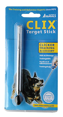 Telescopic Training Guide 7 CLIX Target Stick Clicker Puppy Adult Accessory NEW