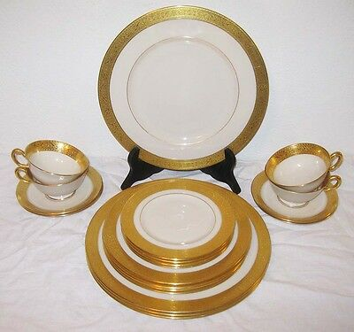 Lenox Westchester 20 pcs Plates Dinner Salad Bread Cup Saucer 4-5pc Setting M139