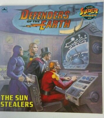 Defenders of the earth book The Sun Stealers collectable Book