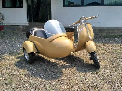 1964 Other Makes  Vespa scooter Vintage VBB Fully Restored, with scooter99 sidecar