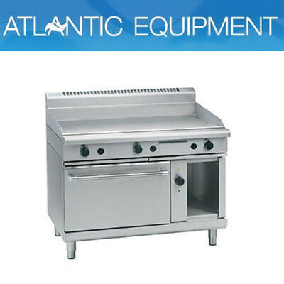 Waldorf GP8121GEC 1200mm Gas Griddle - Electric Convection Oven Range