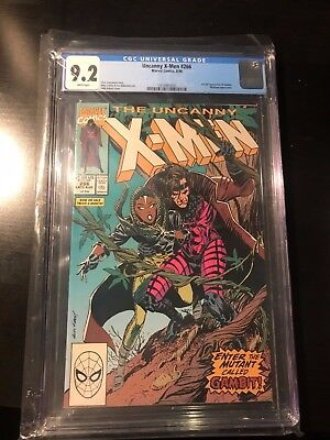 Uncanny X-Men #266 first GAMBIT CGC 9.2 white pages