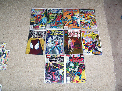 Spider-Man Ass. 10 Comic Lot NM Amazing Spectacular Web of