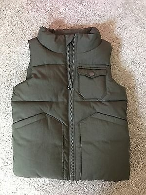 Country Road Boys Size 2 - 3 Puffer Vest Green BNWOT New Without Tags CR Kids
