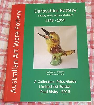 Darbyshire Australian Pottery Collectors Price Guide 2015 Limited Edition
