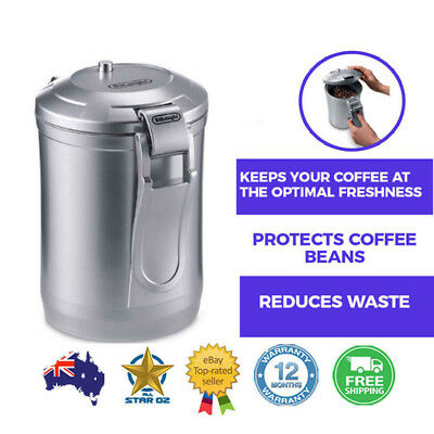 Vacuum Sealed Coffee Bean Container Air Tight Storage Seal Dry Kitchen Canister