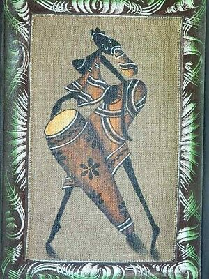 Unique Wall Decor African Art Abstract Orig Canvas Oil Painting Unframed # 8
