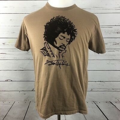 Jimi Hendrix T Shirt Velvet Portrait Shirt Medium Tee Crewneck Band shirt