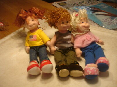 "Ty  Teenie Beanie Boppers  Approx 7""   3 Girls  American Millie, Sweet Sally, S"