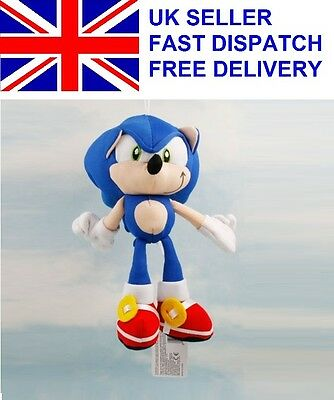 Sonic The Hedgehog SEGA Sonic Stuffed Plush Soft Doll Toy Gift 20 cm 8 inch s