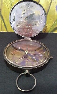 Reproduction  Compass Sinking Of The Titanic